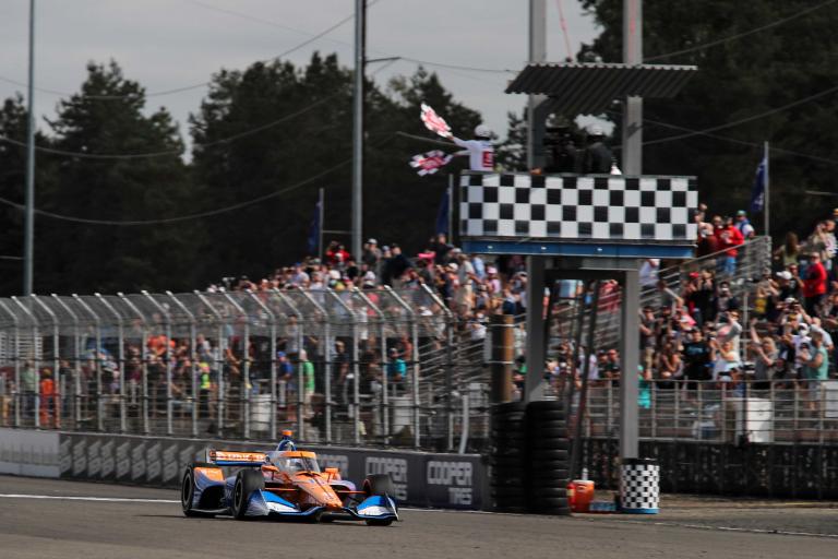 Alex Palou wins Portland International Raceway - Indycar Series