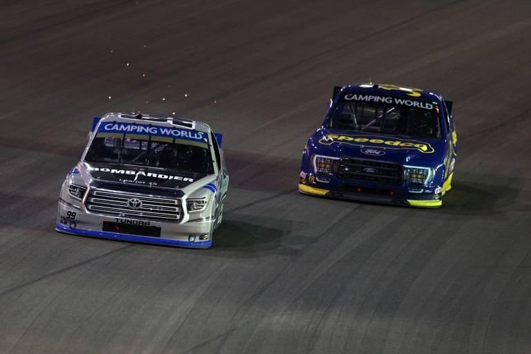 Ben Rhodes, Todd Gilliland - Las Vegas Motor Speedway - NASCAR Truck Series