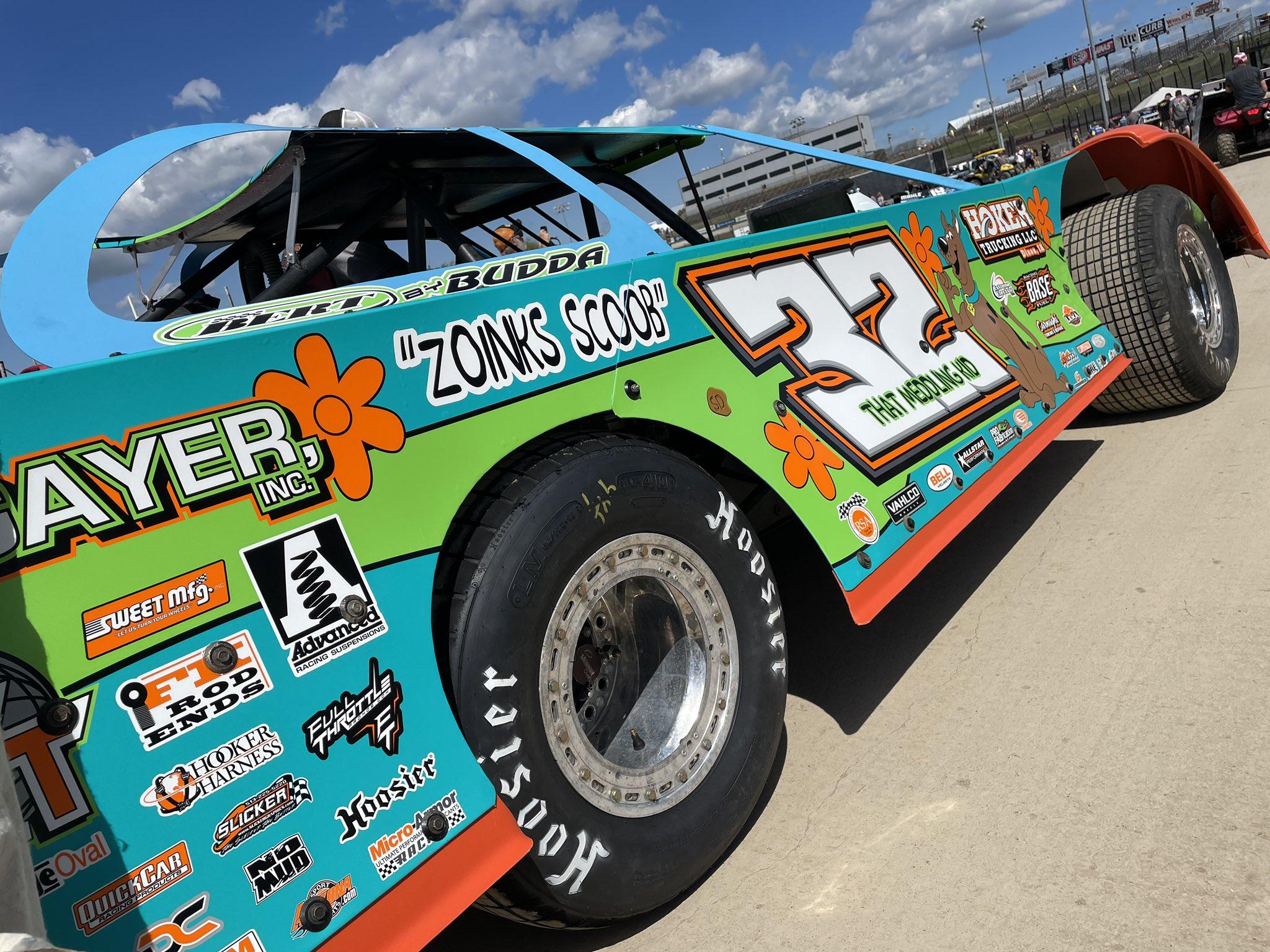Bobby Pierce - Scooby Doo Race car 3 - Eldora Speedway