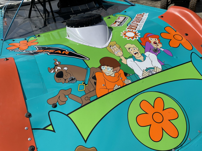 Bobby Pierce - Scooby Doo Race car 4 - Eldora Speedway