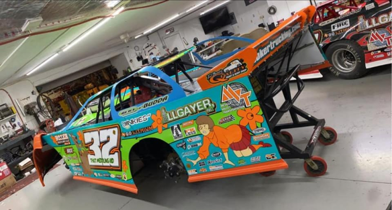 Bobby Pierce - Scooby-Doo race car