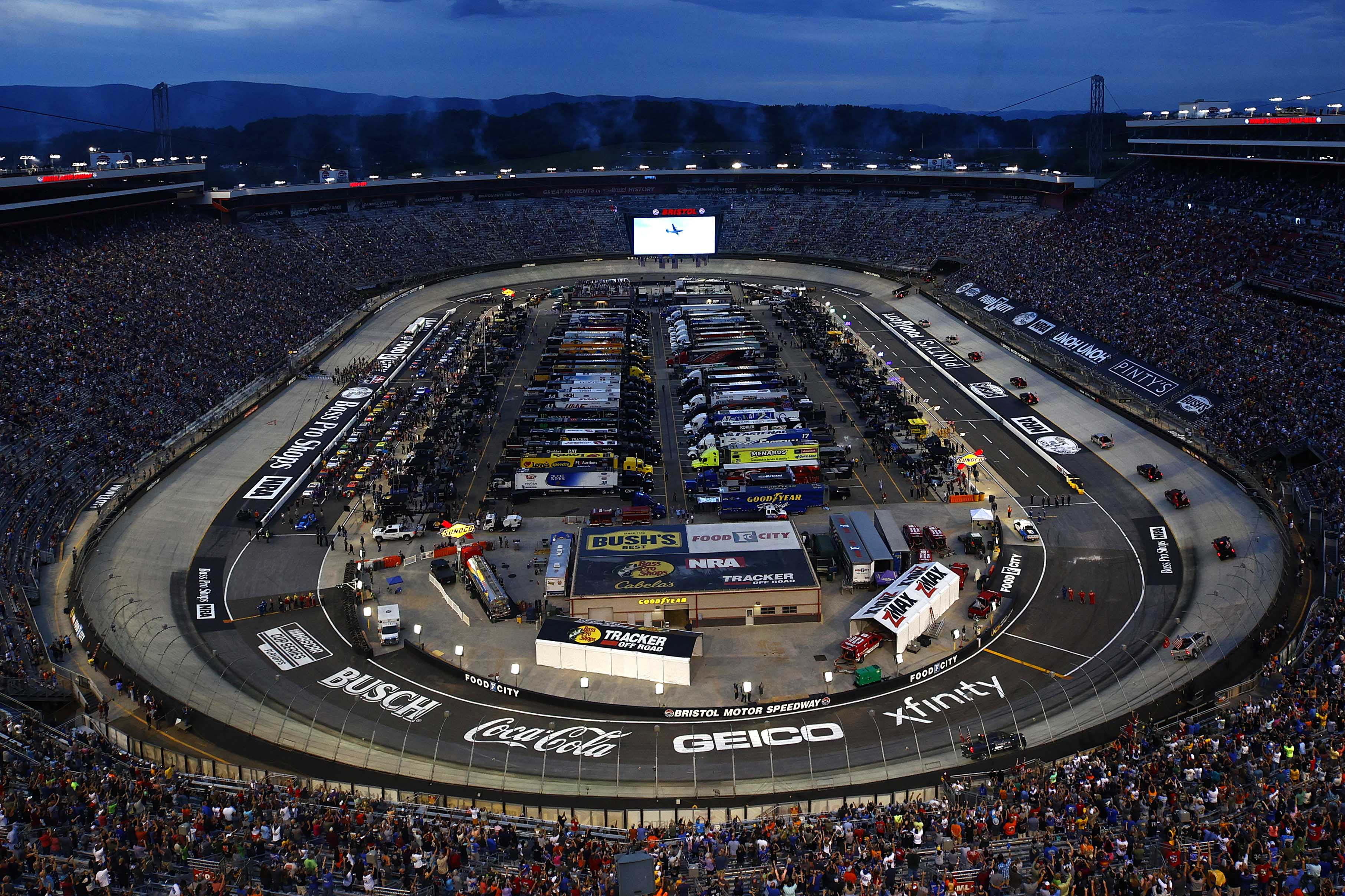 Bristol Motor Speedway - NASCAR Cup Series - Aerial Photo