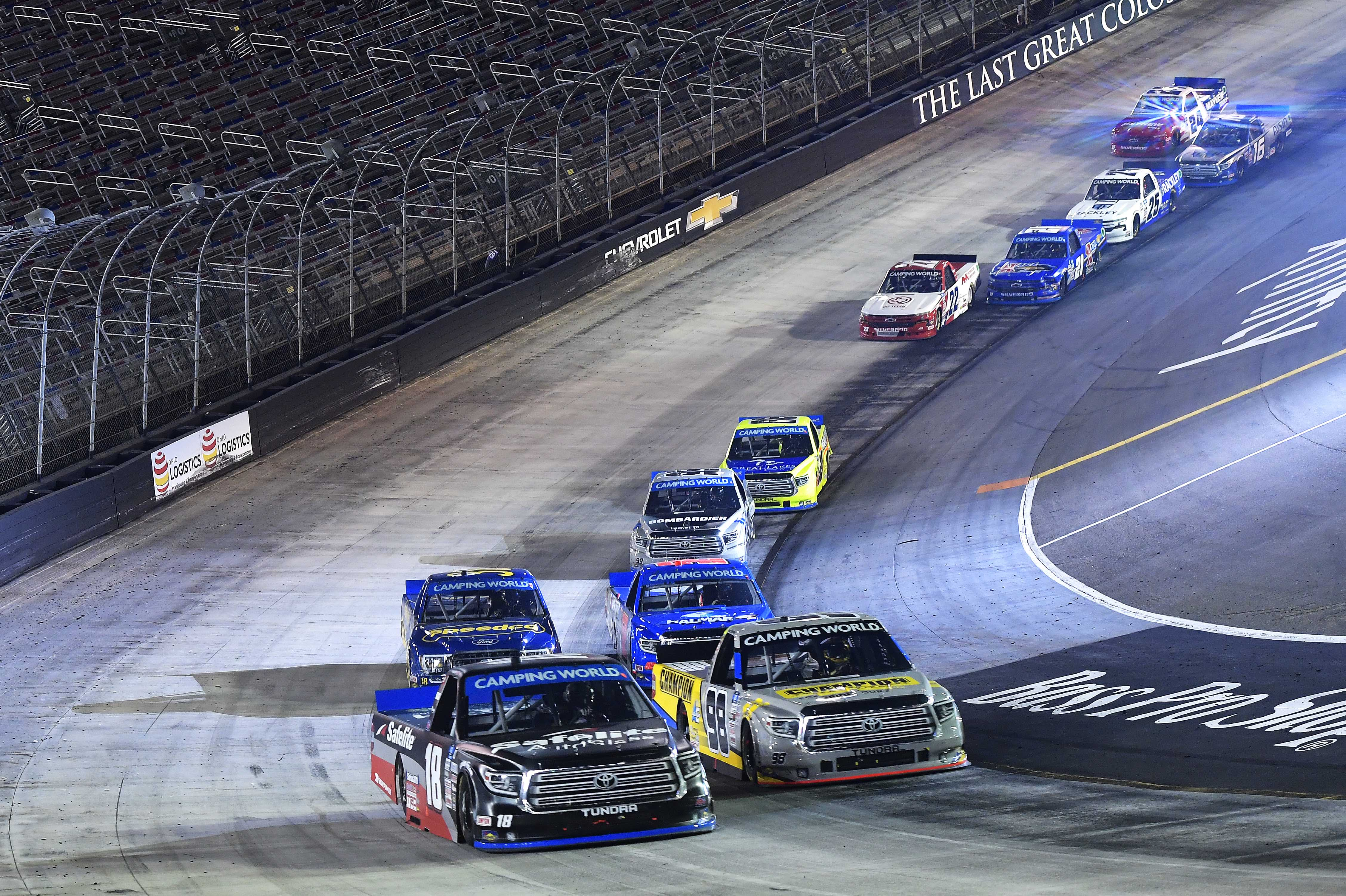 Chandler Smith, Grant Enfinger - Bristol Motor Speedway - NASCAR Truck Series
