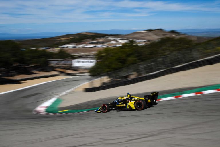 Colton Herta - Laguna Seca - Indycar Series