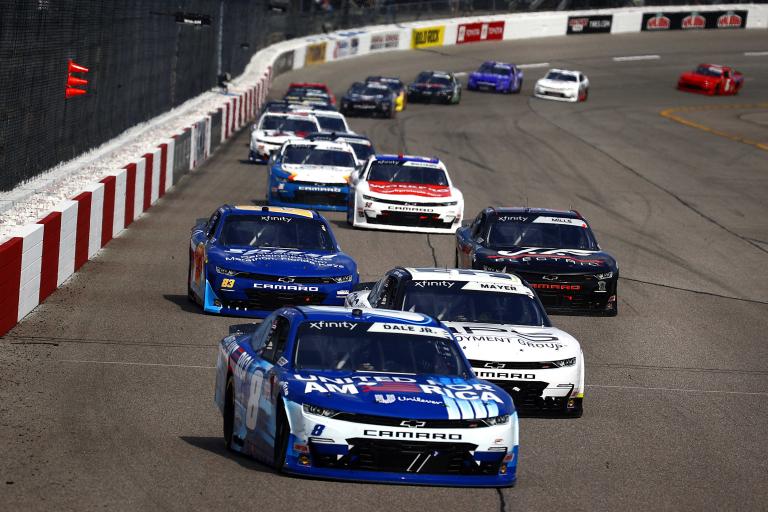 Dale Earnhardt Jr - Richmond Raceway - NASCAR Xfinity Series