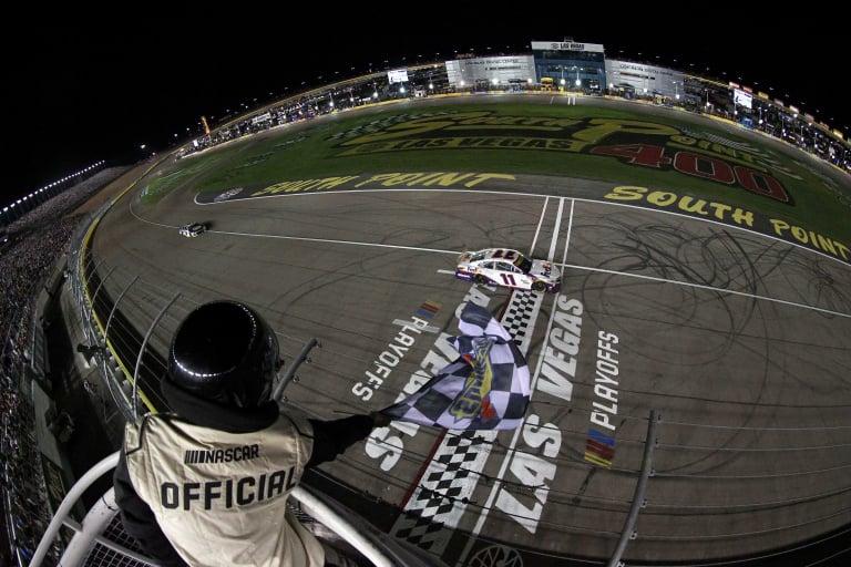 Danny Hamlin wins at Las Vegas Motor Speedway - NASCAR Cup Series