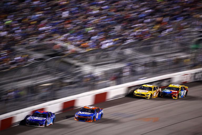 Erik Jones, Ricky Stenhouse Jr, Ryan Newman, Kyle Busch - Richmond Raceway - NASCAR Cup Series