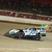 Gregg Satterlee and Bobby Pierce - Eldora Speedway - Dirt late model racing