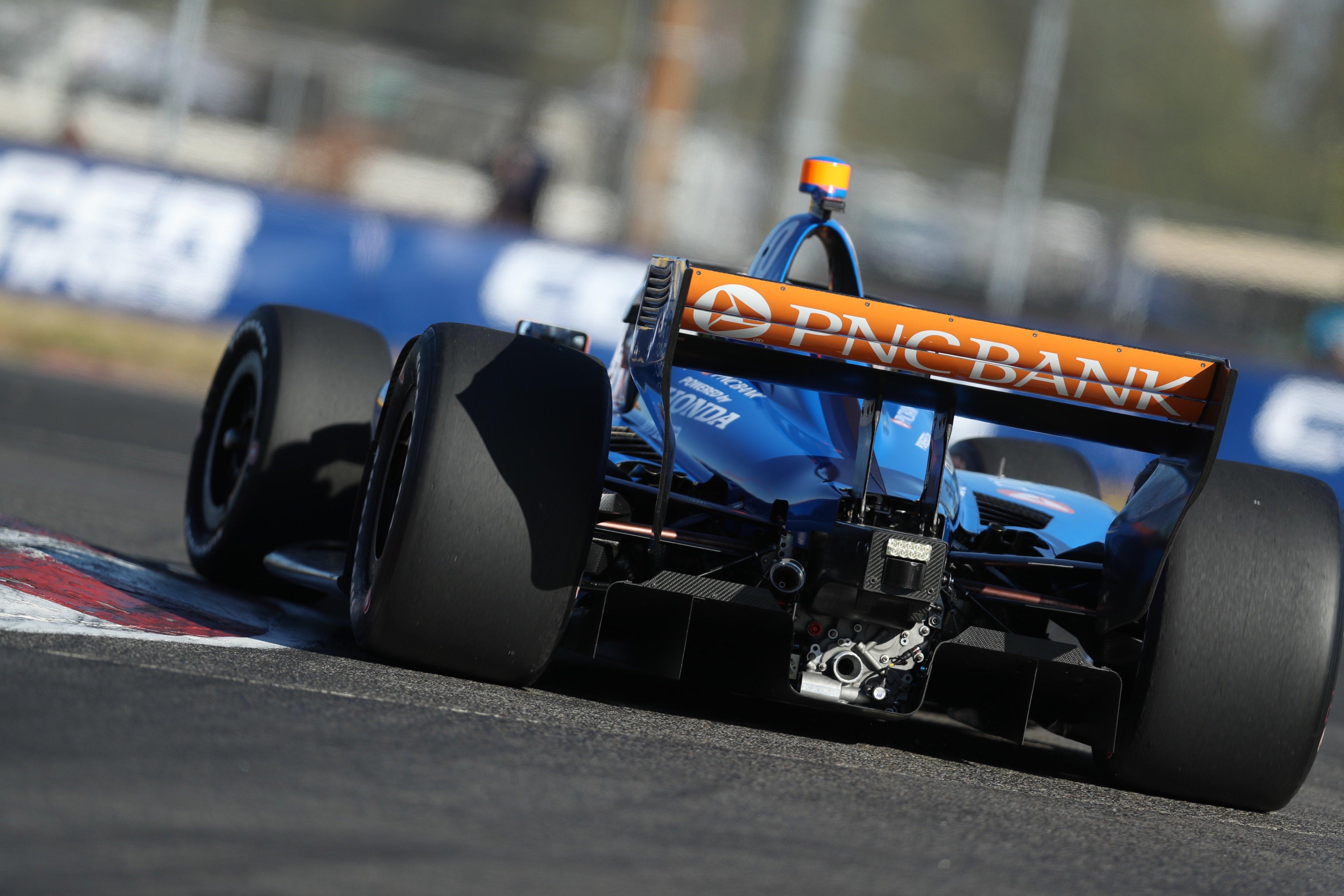 Indycar qualifying - Portland International Raceway