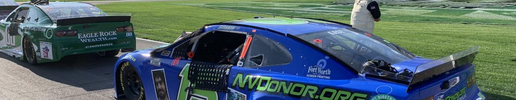 NASCAR driver transported to hospital after Las Vegas crash (Video)