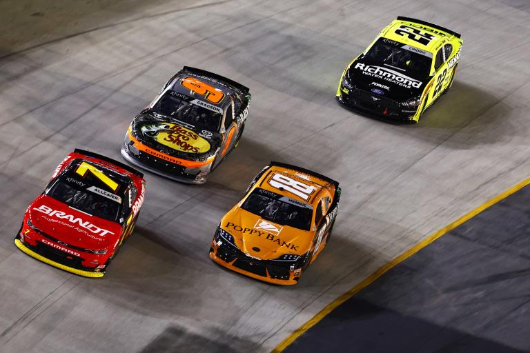 Justin Allgiaer, Daniel Hemric, Noah Gragson - Bristol Motor Speedway - NASCAR Xfinity Series