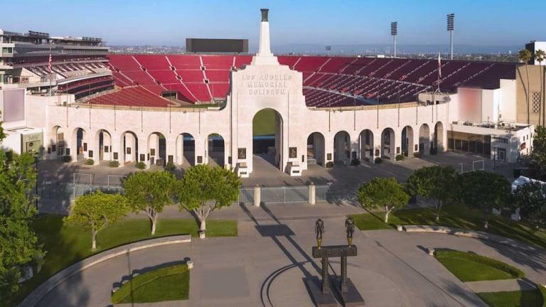 LA Coliseum - NASCAR track - Bullring