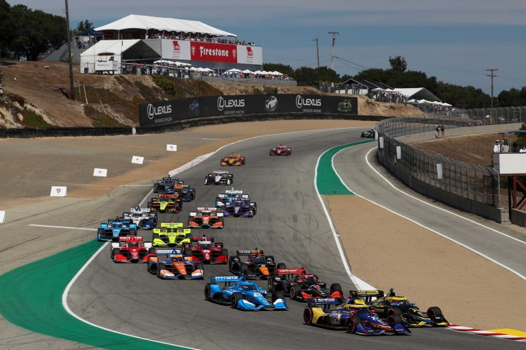 Laguna Seca - Indycar Series