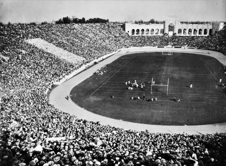 Los Angeles Coliseum - Running Track