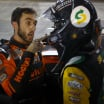 NASCAR drivers Chase Elliott and Kevin Harvick altercation - Bristol Motor Speedway - NASCAR Cup Series