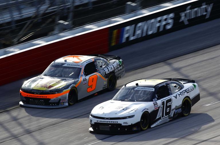 Noah Gragson, AJ Allmendinger - NASCAR Xfinity Series - Darlington Raceway