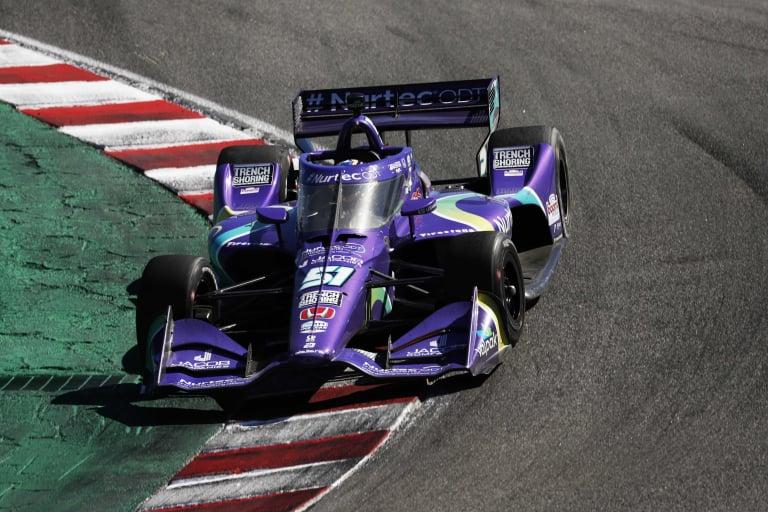 Romain Grosjean - Laguna Seca - Indycar Series