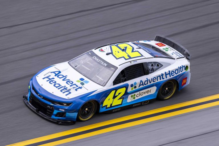 Ross Chastain - NASCAR Next Gen test - Daytona International Speedway