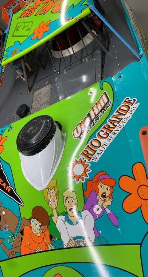 Scooby Doo Cast - Race Car Wrap
