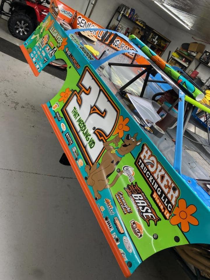 Scooby Doo - Race Car Photo
