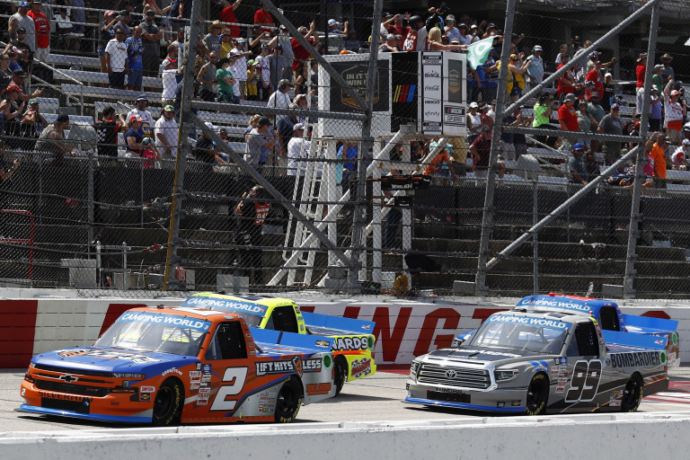 Sheldon Creed, Ben Rhodes - NASCAR Truck Series - Darlington Raceway