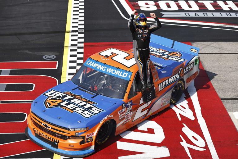 Sheldon Creed wins NASCAR Truck Series - Darlington Raceway 2