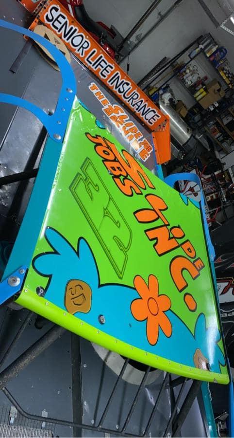 Slide Jobs Inc - Scooby Doo Race Car