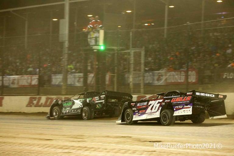 Stormy Scott, Brandon Overton - Eldora Speedway - Dirt Late Model Racing