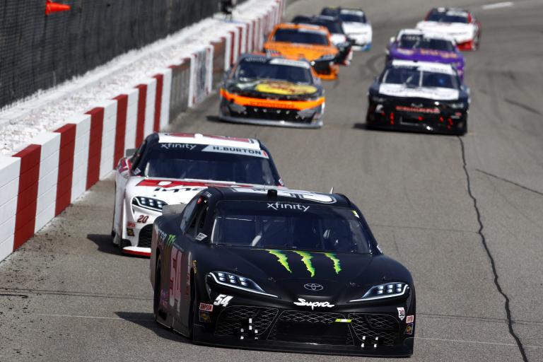Ty Gibbs, Harrison Burton - Richmond Raceway - NASCAR Xfinity Series
