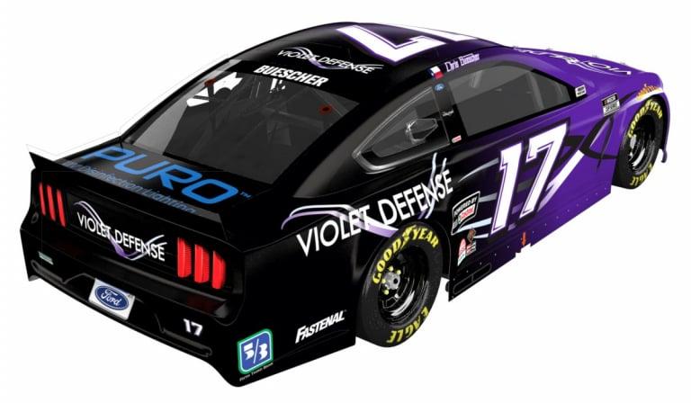 Violet Defense - NASCAR - Chris Buescher