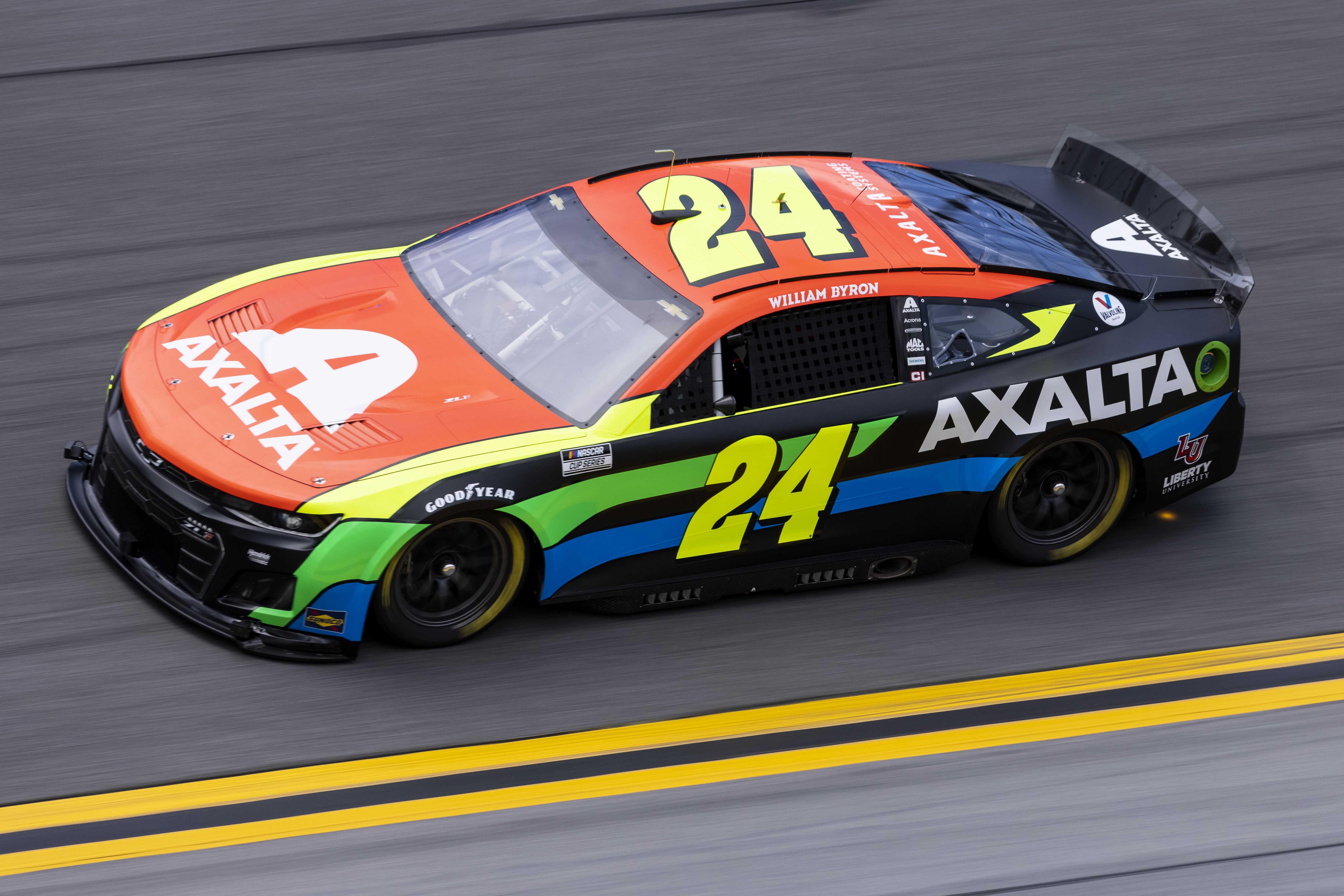 William Byron - NASCAR Next Gen test - Daytona International Speedway