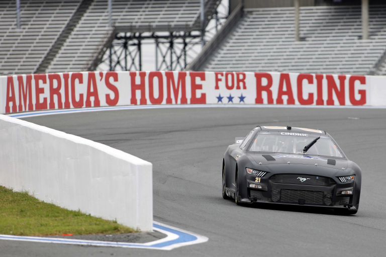 Austin Cindric - NASCAR Next Gen test - Charlotte ROVAL - NASCAR Cup Series