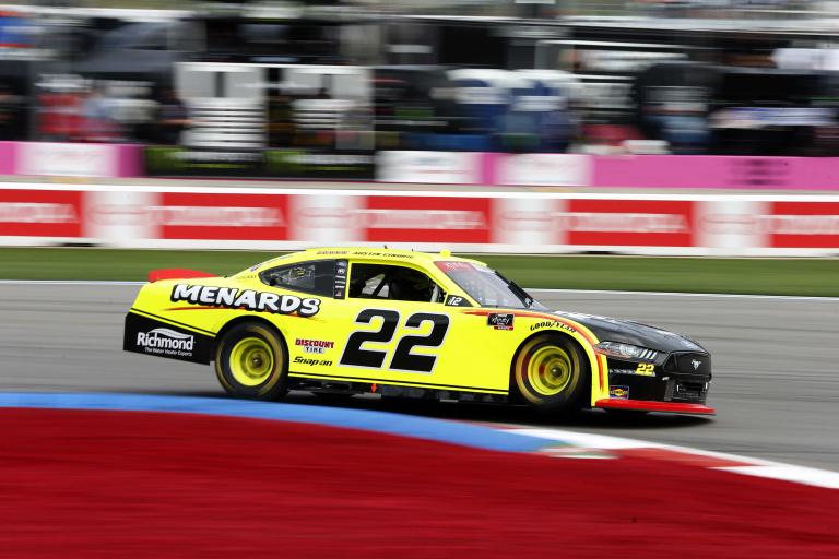 Austin Cindric on the Charlotte ROVAL - NASCAR Xfinity Series