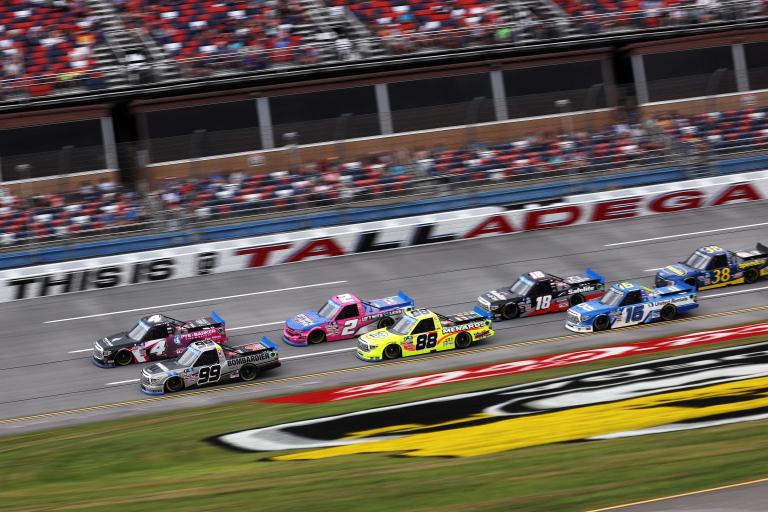 Ben Rhodes, John Hunter Nemechek - NASCAR Truck Series - Talladega Superspeedway