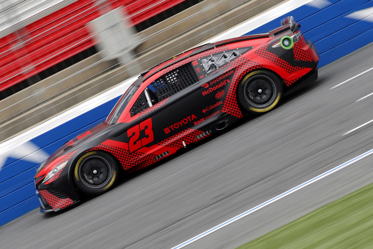 Bubba Wallace - NASCAR Next Gen test - Charlotte ROVAL - NASCAR Cup Series