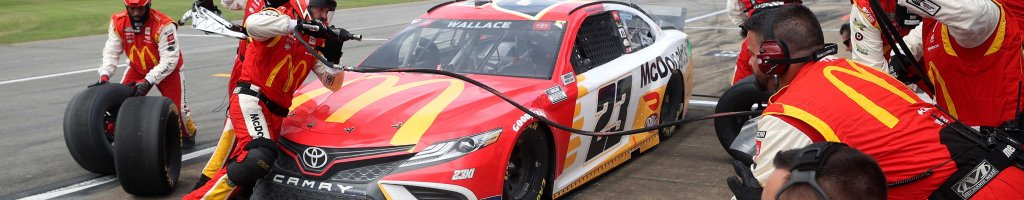 McDonald's changed name of account for Bubba Wallace