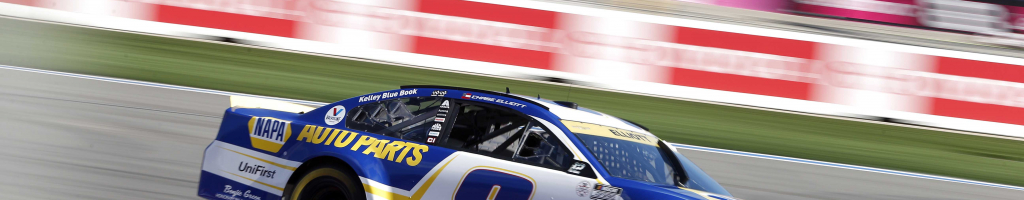 NASCAR fan runs onto track during race; Faceplants (Video)