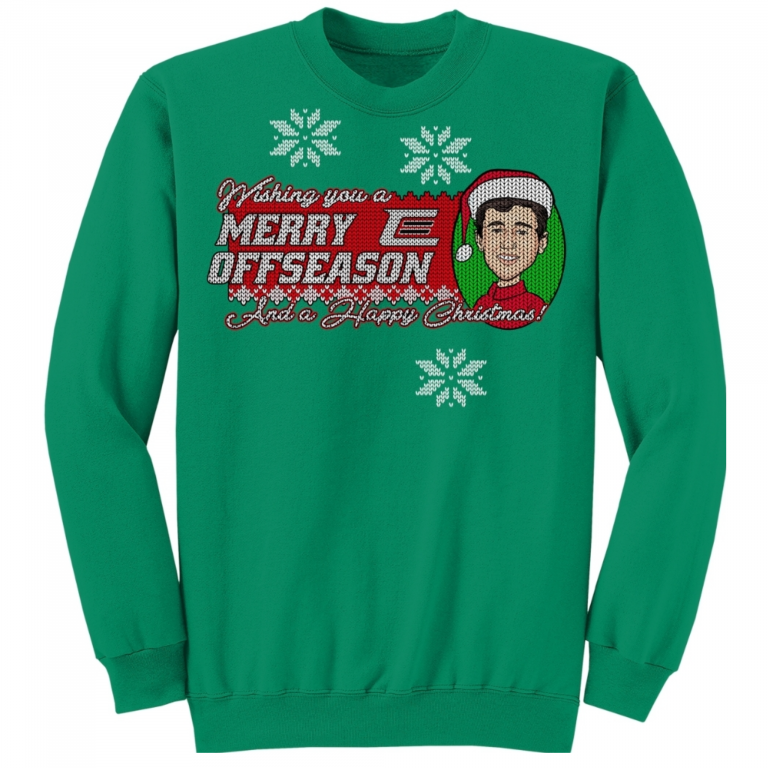 Chase Elliott - Camisa y suéter Merry Offseason