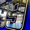 Chrome NASCAR numbers - Daniel Suarez