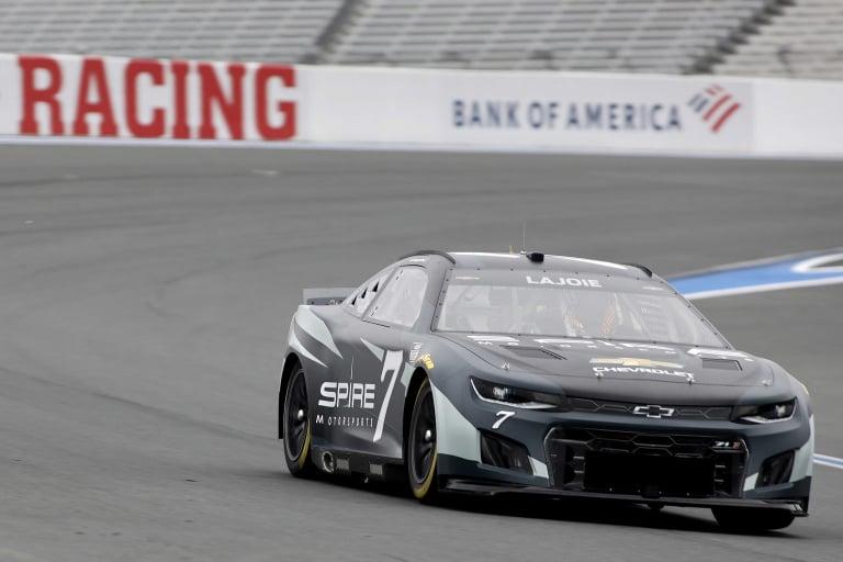 Corey LaJoie 7 - NASCAR Next Gen test - Charlotte ROVAL - NASCAR Cup Series