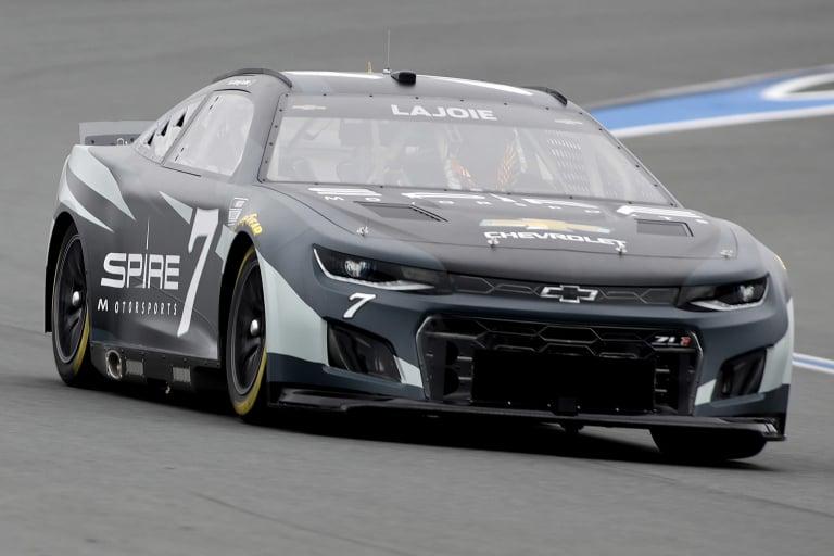 Corey LaJoie - NASCAR Next Gen test - Charlotte ROVAL - NASCAR Cup Series