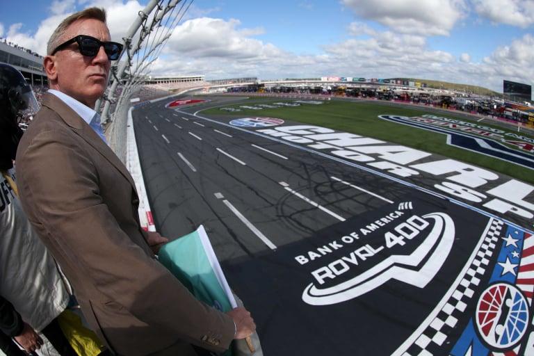Daniel Craig - Charlotte Roval - NASCAR Cup Series