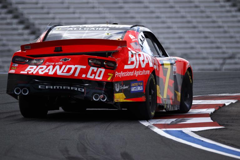 Justin Allgaier on the Charlotte ROVAL - NASCAR Xfinity Series