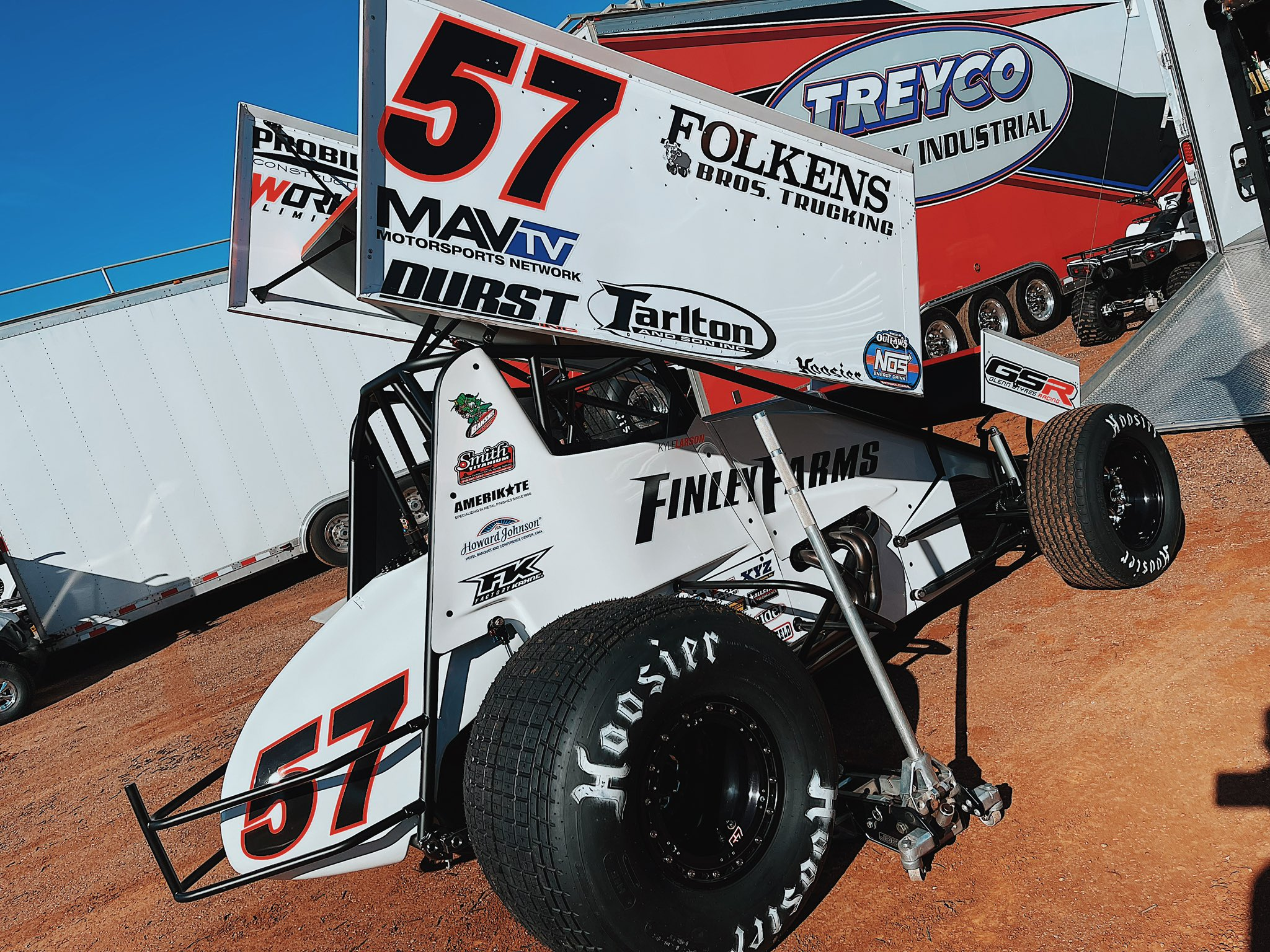 Kyle Larson - Dirt Sprint Car