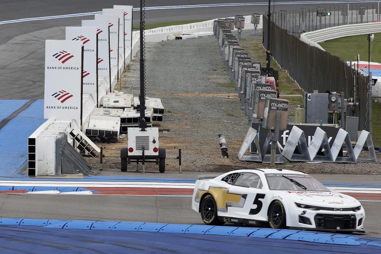 Kyle Larson - NASCAR Next Gen test - Charlotte ROVAL - NASCAR Cup Series