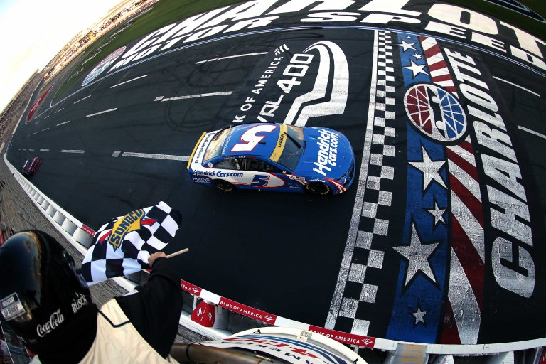 Kyle Larson wins - Charlotte Roval - NASCAR Cup Series