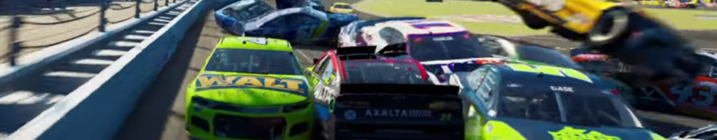 New NASCAR game is looking rough (Videos)