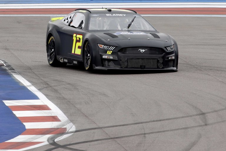 Ryan Blaney - NASCAR Next Gen test - Charlotte ROVAL - NASCAR Cup Series