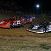 Shane Clanton, Tim McCreadie, Josh Richards - Raceway 7 - Lucas Oil Late Model Dirt Series A35I0110