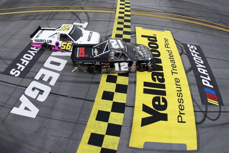 Tate Fogleman - Photo Finish - NASCAR Truck Series - Talladega Superspeedway